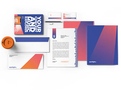 Stationery Set for a branding project
