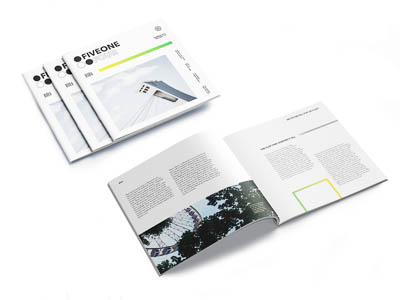 Printed Magazine of an informational Montreal magazine
